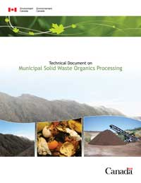 Technical Document on Municipal Solid Waste Organics Processing